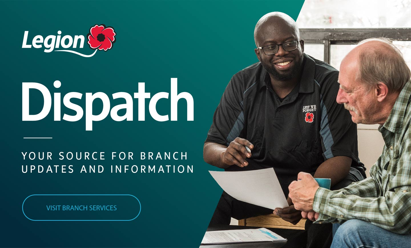 Legion Dispatch. Visit branch services.